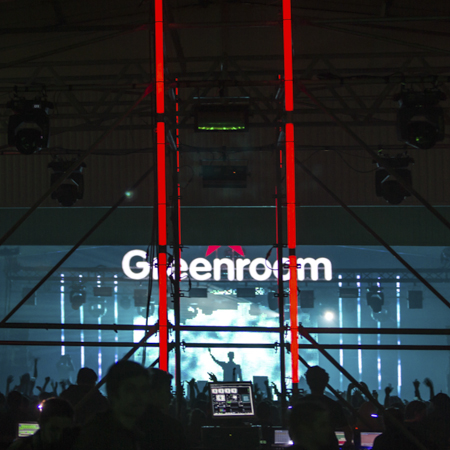 studio atrium - i love techno - montpellier - 2013